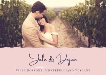 Destination wedding Siena