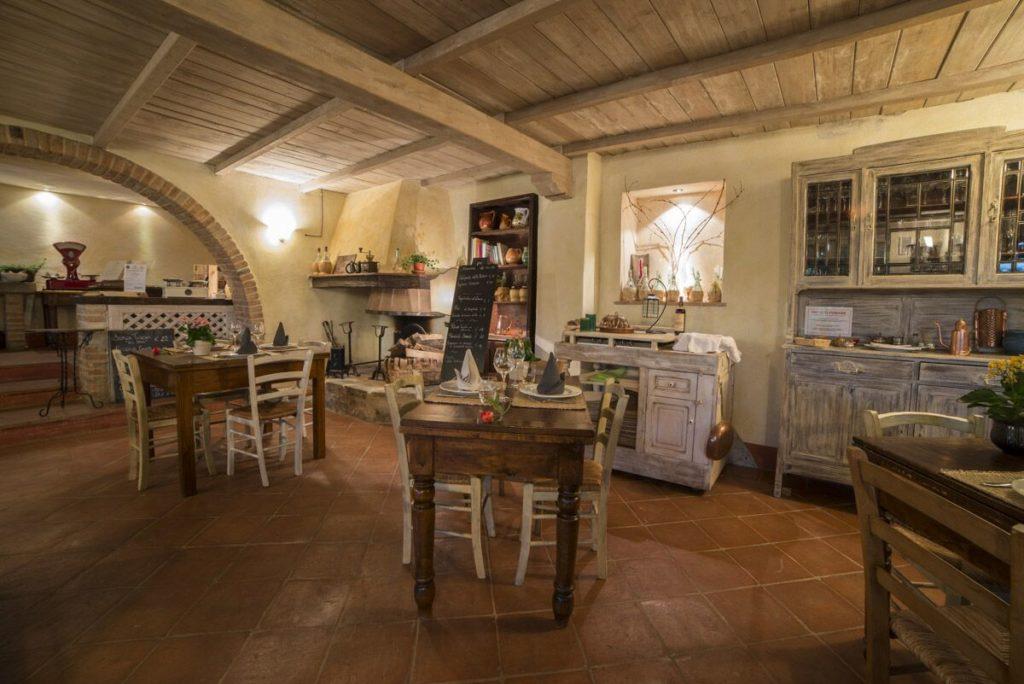 ristorante fattoria di corsignano
