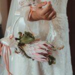 bouquet sposa tondo - organizzazione matrimoni siena