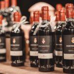 bottiglie di vino come bomboniera di matrimonio - organizzazione matrimoni siena