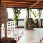 botte di vino come tavolo della cerimonia - organizzazione matrimoni siena
