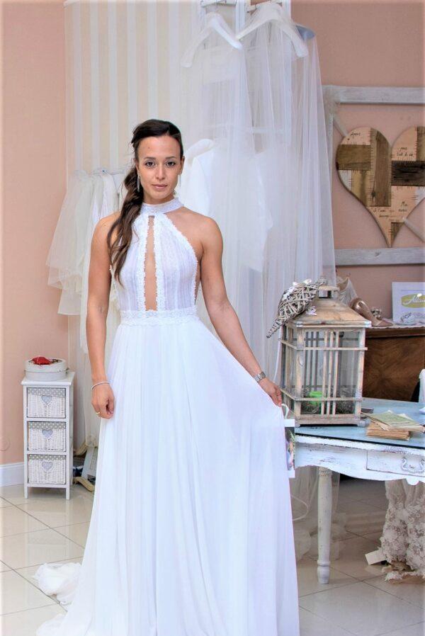 The Wedding Knot Wedding Planner Siena abito sposa collezione Nadia Orlando Couture