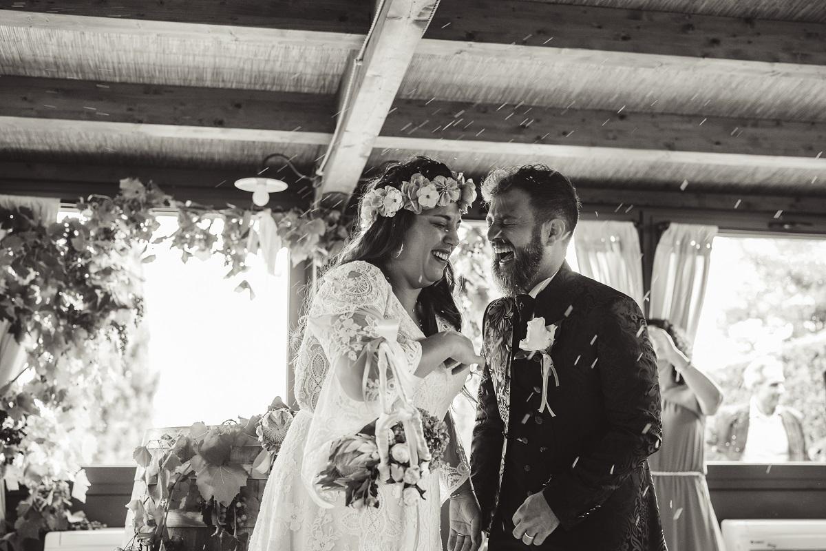 Dashiell wedding planner siena - coppia appena sposati