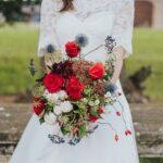 Bouquet con fiori di campo | organizzatrice eventi Siena Toscana