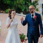 Brindisi degli sposi all'aperitivo | organizzatrice eventi Siena Toscana