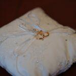 Cuscinetto anelli sposi | organizzatrice eventi Siena Toscana