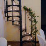 Dettagli decorazioni scala | organizzatrice eventi Siena Toscana