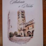 Libretto chiesa per matrimonio con disegno stilizzato | organizzatrice eventi Siena Toscana