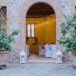 Allestimento cena di matrimonio| organizzatrice eventi Siena Toscana