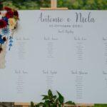 Tableau de mariage sposi | wedding planner Siena Toscana