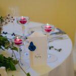 Dettaglio tavolo sposi | wedding planner Siena Toscana