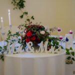 Apparecchiatura tavolo sposi | wedding planner Siena Toscana