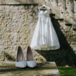 Foto dettaglio vestito da sposa | wedding planner Siena Toscana
